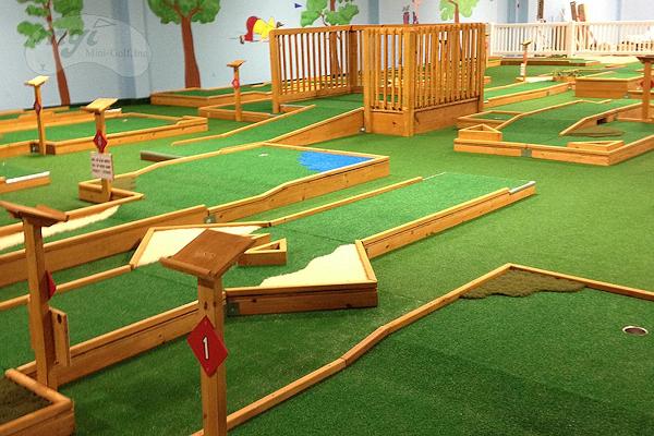 indoor mini golf business plan